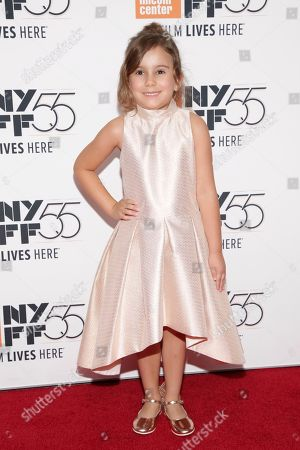 """Actress Piper Blair attends a special screening of """"Mudbound"""", during the 55th New York Film Festival, at Alice Tully Hall, in New York"""