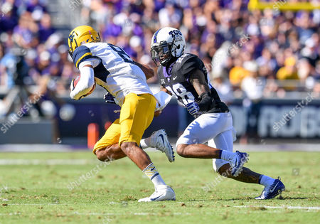 Editorial picture of NCAA Football West Virginia vsTCU, Fort Worth, USA - 26 Sep 2017