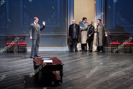 Editorial photo of 'Oslo' photocall, Lyttelton National Theatre, London, UK - 08 Sep 2017