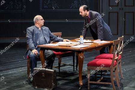 Peter Polycarpou (Ahmed Qurie), Philip Arditti (Uri Savir)