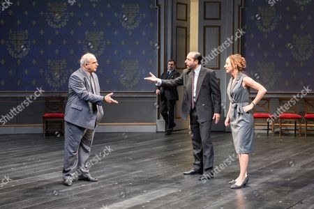 Peter Polycarpou (Ahmed Qurie), Toby Stephens (Terje Larsen), Philip Arditti (Uri Savir), Lydia Leonard (Moana Juul)