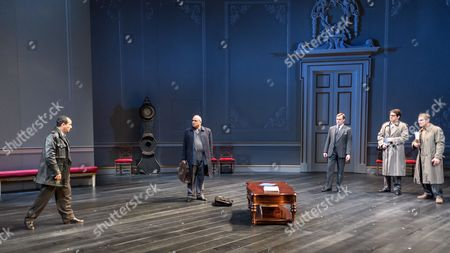 Editorial picture of 'Oslo' photocall, Lyttelton National Theatre, London, UK - 08 Sep 2017