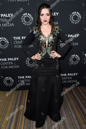 Ariadne Diaz attends Paley Center's LA Gala Celebrating Women in Television at the Beverly Wilshire Hotel, in Beverly Hills, Calif