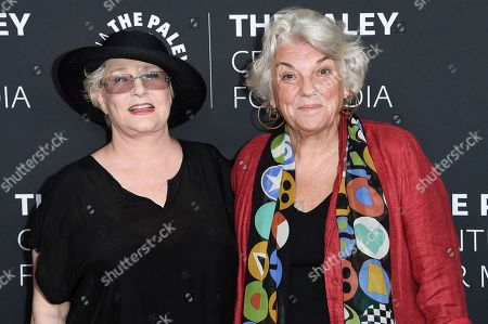Sharon Gless, Tyne Daly. Sharon Gless, left, and Tyne Daly attend Paley Center's LA Gala Celebrating Women in Television at the Beverly Wilshire Hotel, in Beverly Hills, Calif