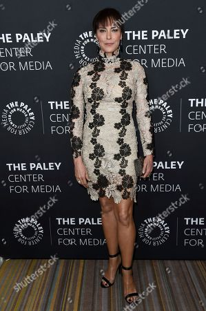 Michelle Forbes attends Paley Center's LA Gala Celebrating Women in Television at the Beverly Wilshire Hotel, in Beverly Hills, Calif