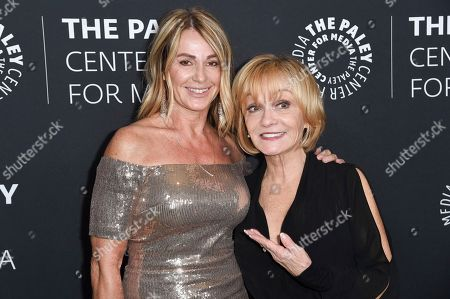 Nadia Comaneci, Cathy Rigby. Nadia Comaneci, left, and Cathy Rigby attend Paley Center's LA Gala Celebrating Women in Television at the Beverly Wilshire Hotel, in Beverly Hills, Calif