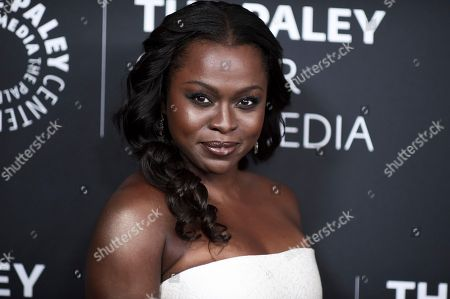 Erica Tazel attends Paley Center's LA Gala Celebrating Women in Television at the Beverly Wilshire Hotel, in Beverly Hills, Calif