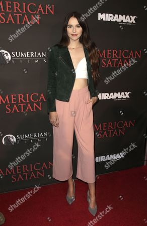 Editorial image of Premiere of 'American Satan', Universal City, USA - 12 Oct 2017