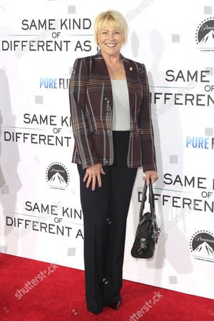 US actress Judi Evans arrives for the premiere of Paramount Pictures and Pure Flix Entertainment's 'Same Kind Of Different As Me' at the Regency Village Theater in Westwood, Los Angeles, California, USA 12 October 2017. The movie opens in the US 20 October 2017.