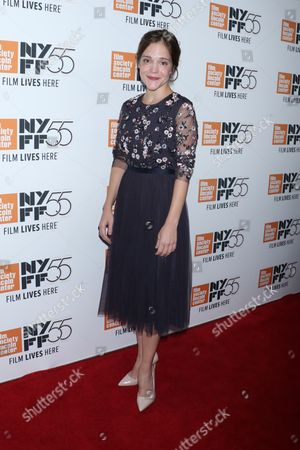 Editorial image of 'Mudbound' film premiere, Arrivals, 55th New York Film Festival, USA - 12 Oct 2017