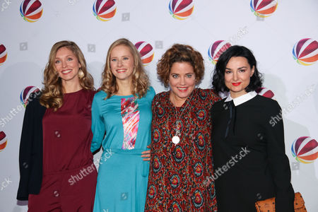 Stephanie Krogmann, Susanne Bormann, Muriel Baumeister, Mimi Fiedler