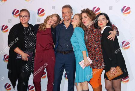 Vera Kasimir, Stephanie Krogmann, Hannes Jaenicke, Susanne Bormann, Muriel Baumeister, Mimi Fiedler