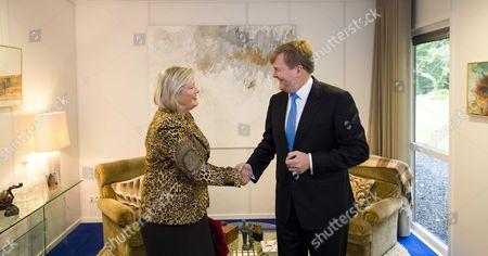 King Willem-Alexander and Ankie Broekers-Knol