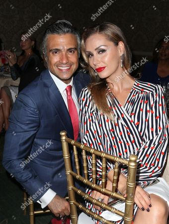Editorial photo of Eva Longoria Foundation Gala, Inside, Los Angeles, USA - 12 Oct 2017