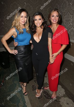 Anjelah Johnson, Eva Longoria and Alex Meneses