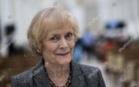 Stock Image of Sue MacGregor.