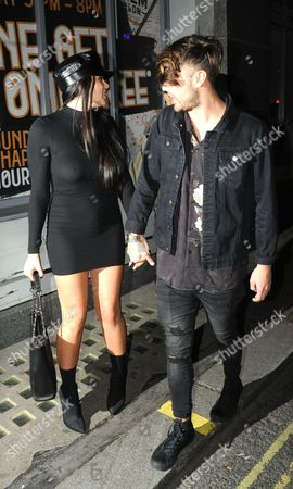 Marnie Simpson and Casey Johnson