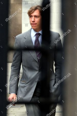 Prince Louis of Luxembourg arrives outside the High Court for his divorce from Tessy Antony