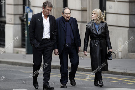 Philippe Caroit, Robert Hossein and Candice Patou