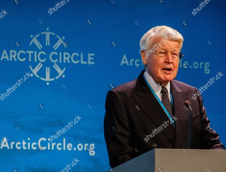 Editorial image of 5th Arctic Circle conference in Reykjavik, Iceland - 13 Oct 2017