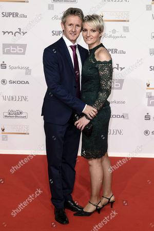 Jens Weissflog and Doreen Fiebig