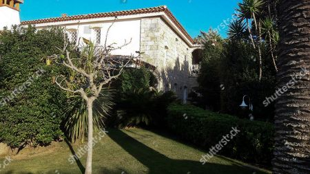 A view of a villa in Porto Cervo on the Italian Sardinia island seized by the Italian Police. The villa, valued at seven million euros ($8.3 million), was allegedly how a Qatari television executive bribed a top FIFA official. Italian police said they seized the luxury property in Sardinia they claim Nasser al-Khelaifi, who is also president of Paris Saint-Germain, made available to former FIFA secretary general Jerome Valcke. Details of the alleged corruption were revealed one day after Swiss federal prosecutors oversaw evidence-gathering raids in four European countries for a widening investigation of FIFA and the 2018-2022 World Cup bidding contests won by Russia and Qatar