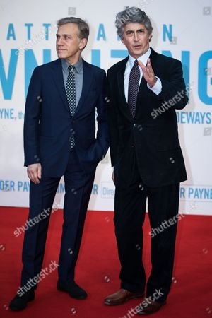 Christoph Waltz and Alexander Payne