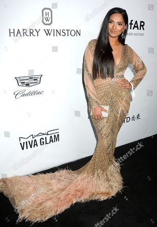 Editorial photo of amfAR Inspiration Gala, Arrivals, Los Angeles, USA - 13 Oct 2017