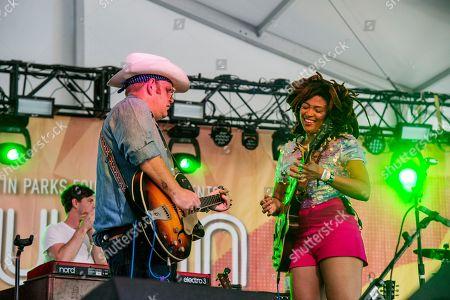 Valerie June seen at the Austin City Limits Music Festival at Zilker Park, in Austin, Texas
