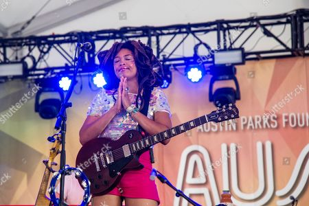 Valerie June seen at the Austin City Limits Music Festival at Zilker Park, in Austin, Texas