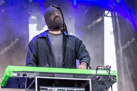 Stock Photo of Ethan Kath of Crystal Castles performs at the Austin City Limits Music Festival at Zilker Park, in Austin, Texas