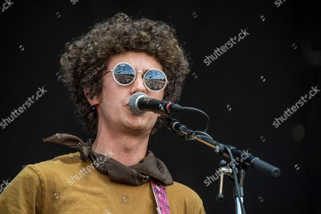 Ron Gallo performs at the Austin City Limits Music Festival at Zilker Park, in Austin, Texas