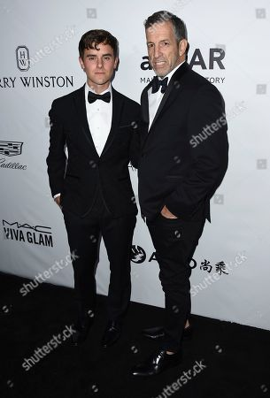 Connor Franta, Kenneth Cole. Connor Franta, left, and Kenneth Cole attends the 2017 amfAR Inspiration Gala Los Angeles on in Beverly Hills, Calif