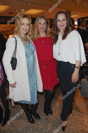 Isabel Edvardsson, Christine Deck and Ina Menzer