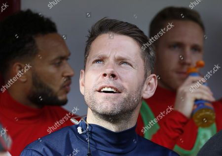 James Beattie Assistant Manager of Middlesbrough during the EFL Sky Bet Championship match between Barnsley and Middlesbrough at Oakwell, Barnsley