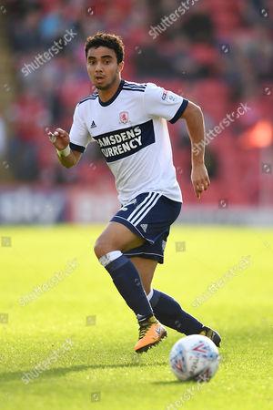 Fabio Da Silva of Middlesbrough.