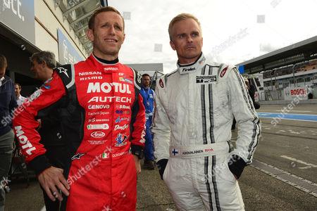 Ronnie Quintarelli, Heikki Kovalainen