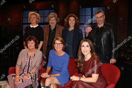 Lisa Ortgies, Annette Dittert, Reinhold Messner, Bettina Böttinger, Adele Neuhauser, Judith Williams, Wladimir Kaminer