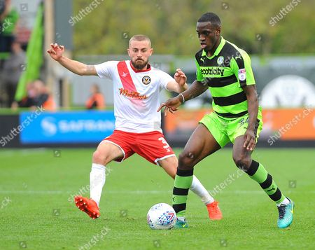 Editorial image of Forest Green Rovers v Newport County 14/10/17, UK - 14 Oct 2017