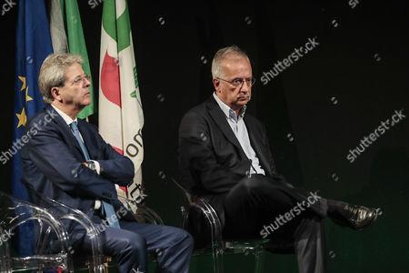 Paolo Gentiloni, Walter Veltroni