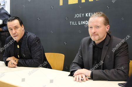 Stock Photo of Till Lindemann, Joey Kelly