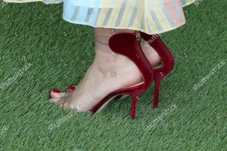 Alicia Sanz, shoe detail