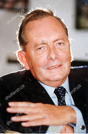 Television Presenter And Broadcaster Brian Walden