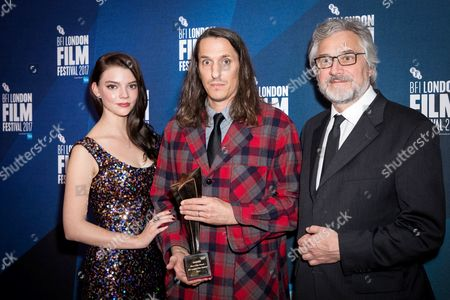 Editorial image of BFI London Film Festival Awards, press room, UK - 14 Oct 2017