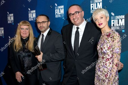 Editorial picture of BFI London Film Festival Awards, press room, UK - 14 Oct 2017