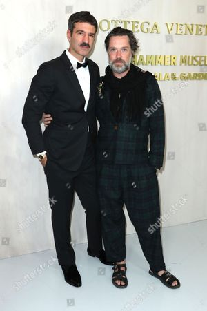 Jorn Weisbrodt and Rufus Wainwright