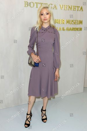 Editorial photo of Hammer Museum's Gala in the Garden, Arrivals, Los Angeles, USA - 14 Oct 2017