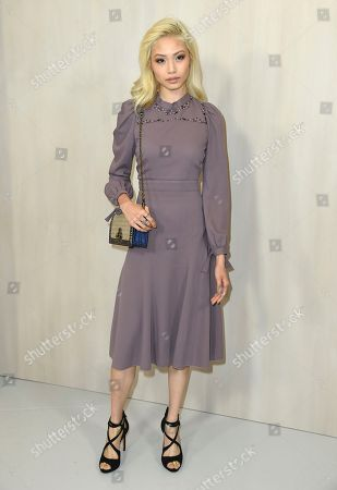 Grace Cheng arrives at the 15th annual Hammer Museum Gala in the Garden, in Los Angeles
