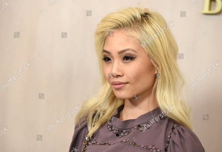 Stock Image of Grace Cheng arrives at the 15th annual Hammer Museum Gala in the Garden, in Los Angeles