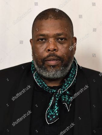 Hilton Als arrives at the 15th annual Hammer Museum Gala in the Garden, in Los Angeles